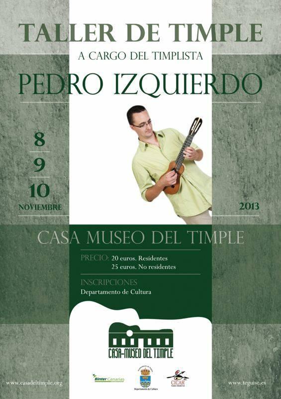 Taller de Timple - Pedro Izquierdo. Casa Museo del Timple.