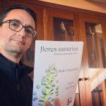 presentación de flores canarias Pedro Izquierdo